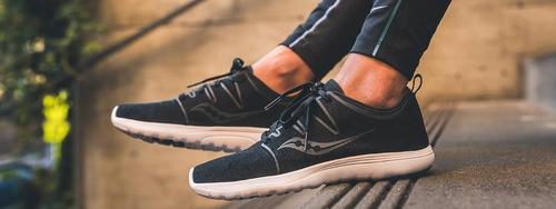 zapatillas saucony eros lace urbanas mujer