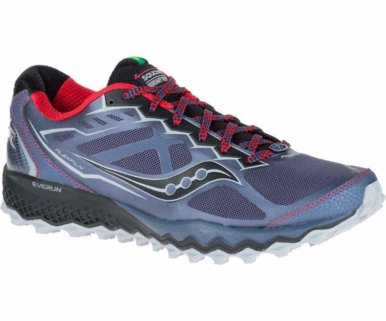 saucony peregrine 6 del hombres trail zapatillas de running