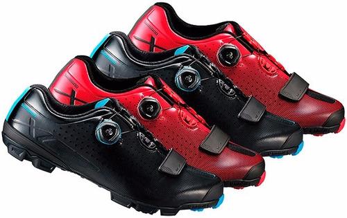 zapatillas shimano xc7 mtb carbono nuevas en caja planet
