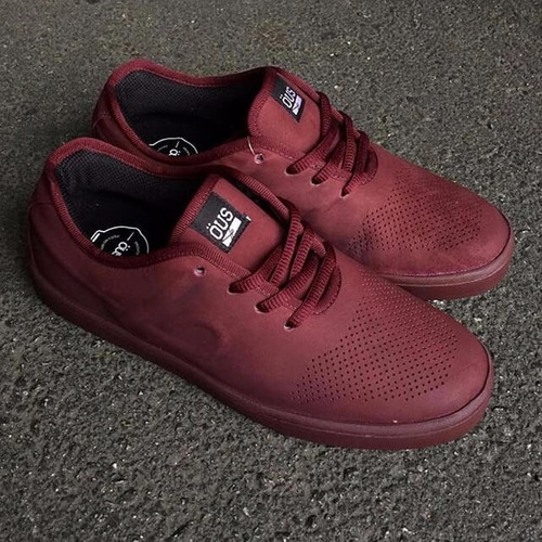 zapatillas skate öus cheff apis imperial bordo