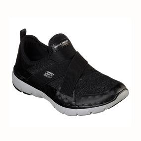 nueva estilos fec7f 5992a Zapatillas Skechers Flex Appeal Finest Hour Mujer - Sin Cordones -