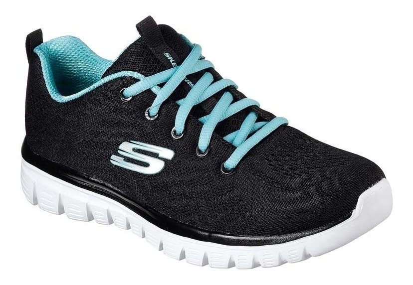 Zapatillas Skechers Graceful Get Connected Mujer Running Gym