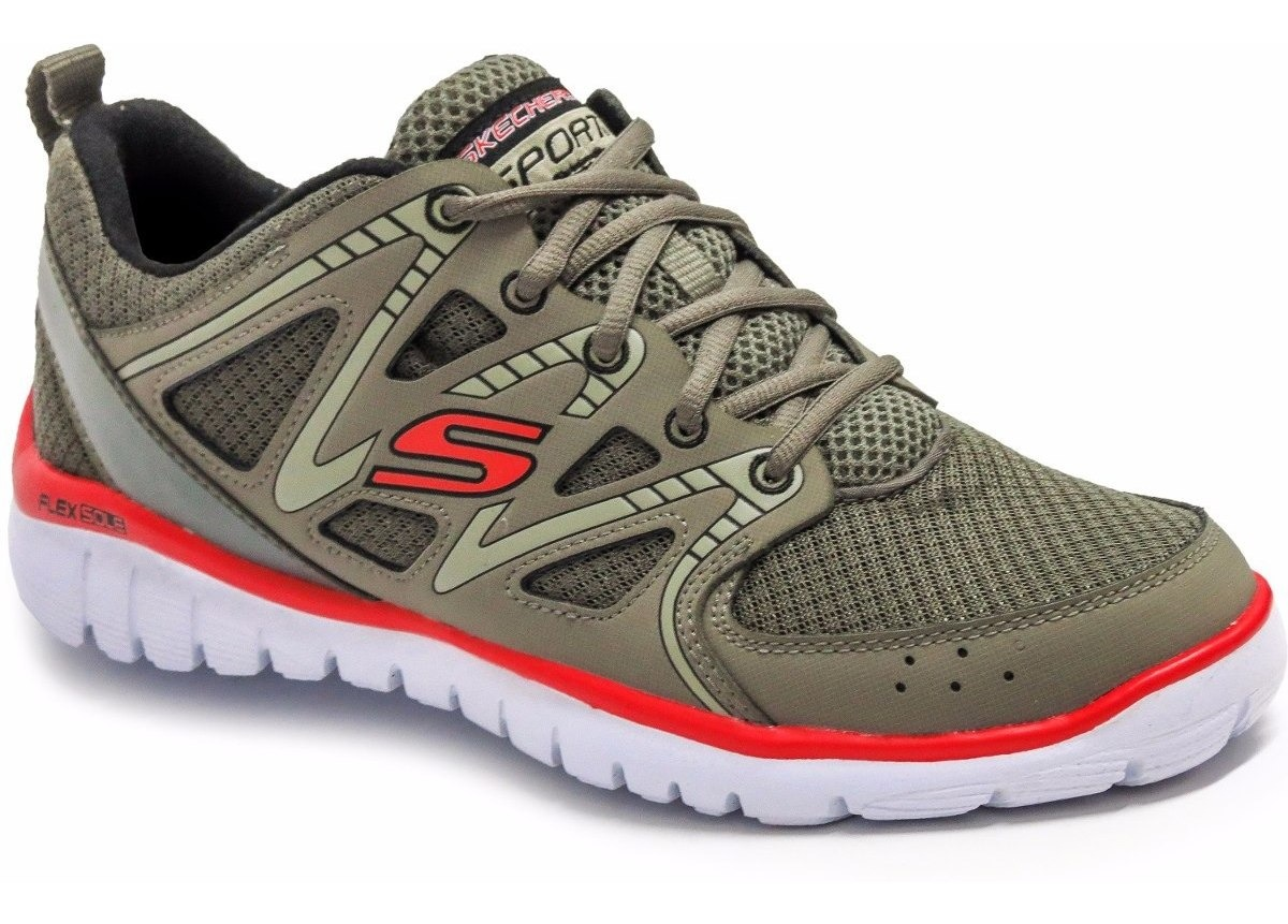 Zapatillas Skechers Interceptor 51205 Flex Sole Running Homb