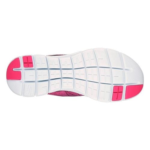zapatillas skechers mujer running flex appeal 2.0 bright sid