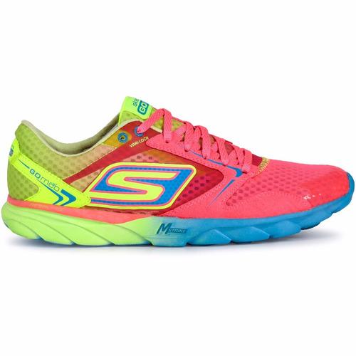 zapatillas skechers run running mujer