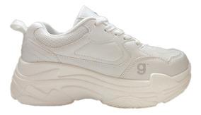 primer nivel ce4ee e43c0 Zapatillas Sneakers Balenciaga Dama Gummi Blanco Nº35/40