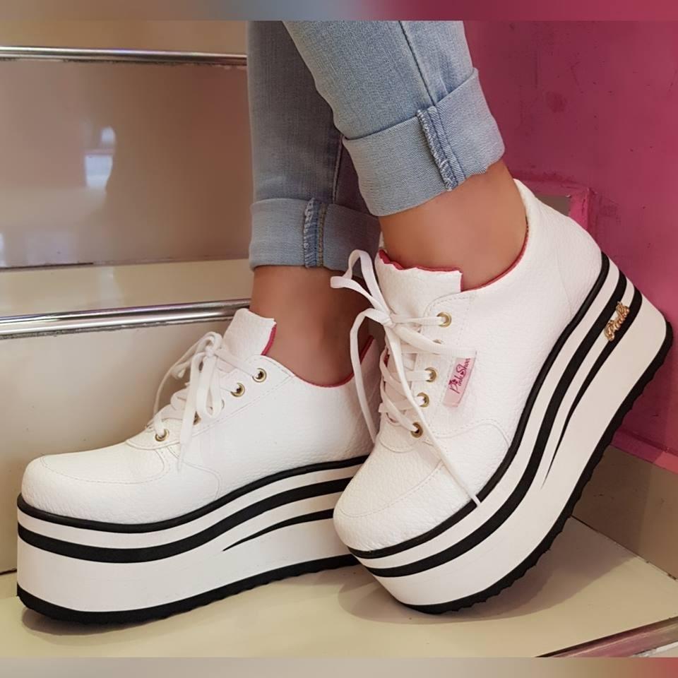 80ba06c6 Zapatillas Sneakers Mujer Plataforma Moda Urbanas 2020 - $ 1.599,99 ...