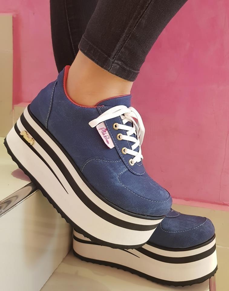 b9f03d72 Zapatillas Sneakers Plataforma Mujer Moda - 2020 - $ 1.599,99 en ...