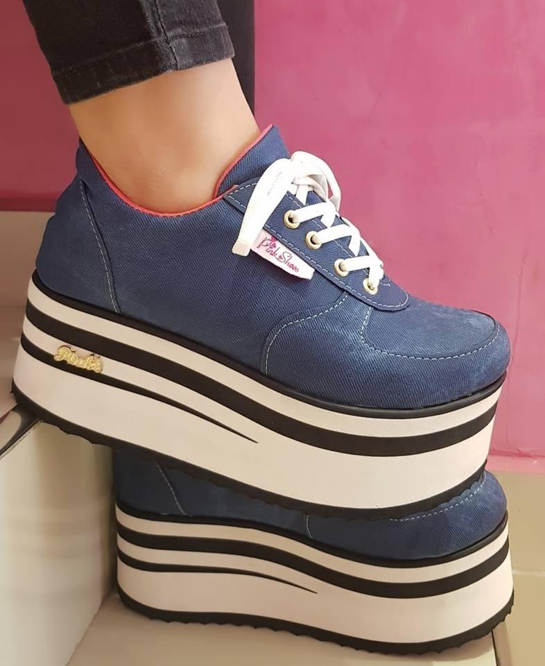 b53fa827 zapatillas sneakers plataforma mujer moda excelentes 2020. Cargando zoom.