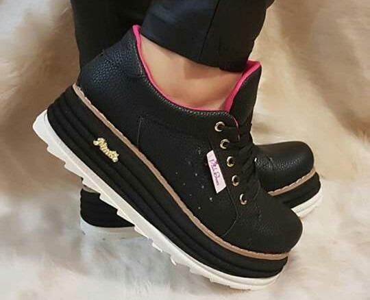35845c0e9fd Zapatillas Sneakers Plataforma Mujer. Nueva Temporada!!! -   950