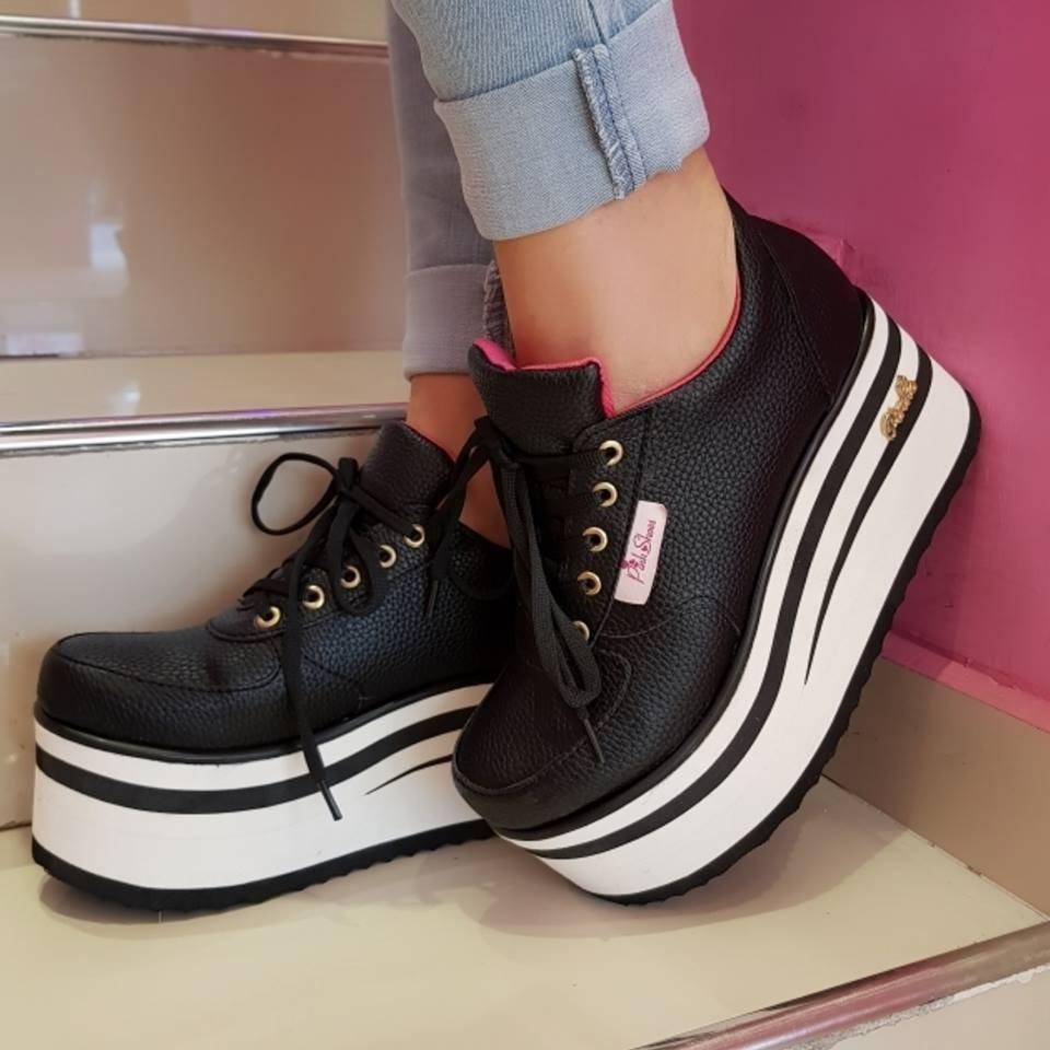 a09e63fb zapatillas sneakers plataforma urbanas mujer moda - 2020. Cargando zoom.