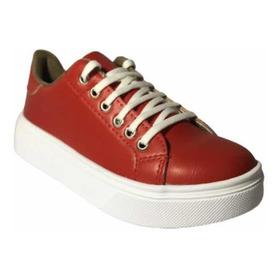 Zapatillas Sneakers Urbanas Moda Mujer Promoción Cod.799ro