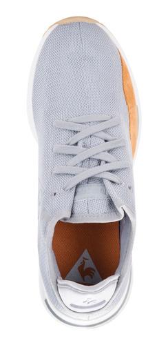zapatillas solas craft suede gris unisex le coq sportif