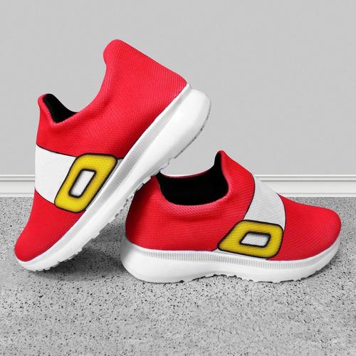 zapatillas sonic rojo