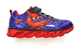 Araña Zapatillas Hombre Con Ftycalzados Marvel Spiderman Luz cqjR354AL