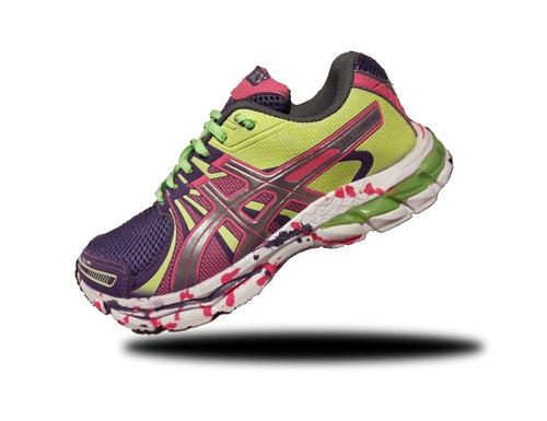 zapatillas sport color deportivas asics gel sendai  trekking