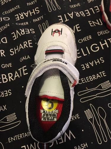 zapatillas star wars con luces