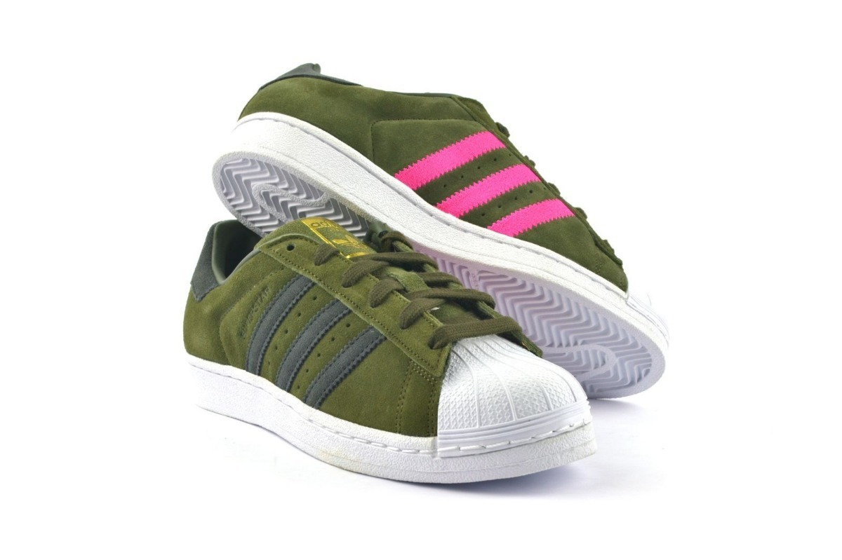 86d809749df78 zapatillas superstar adidas de gamusa tiras de dos colores. Cargando zoom.