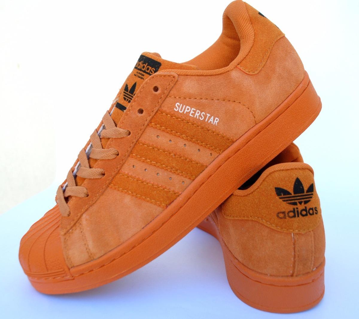 zapatillas superstar ladrillo naranja gamuzadas. Cargando zoom. 47c0427b72049