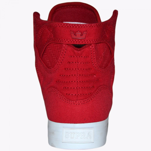 zapatillas supra mujer skytop d red - sp058030