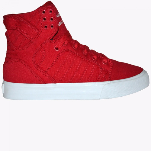 zapatillas supra mujer skytop d red - sp058030