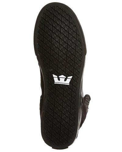 zapatillas - supra skytop - fade  black