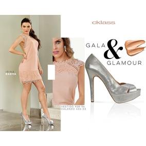 f320d9c58e4 Zapatos Cklass Glamour Plata 406-02 Otoño Invierno 2016