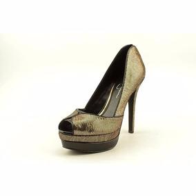 42de736851992 Zapatos Dorados - Zapatillas Jessica Simpson de Mujer en Mercado ...