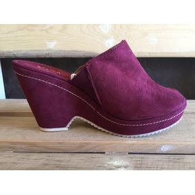 74d38a35e5 Remato Zapatos Tacon Wedge Color Bugambilia Rosa No. 4.5. Estado De México  · Viline Zapato Cuña Casual Color Vino Para Dama