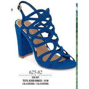 0c44c61b2e602 Zapatilla Dama Color Azul Rey 625-82 Cklass G g 1-19