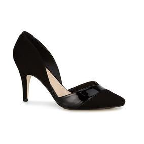 258938349a264 Zapatillas De Charol Cerradas Color Negro Marca Andrea - Zapatos de ...