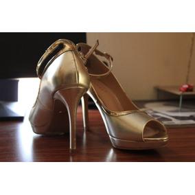 05563392f7cc3 Zapatos Dorados Mujer Westies - Zapatos en Mercado Libre México
