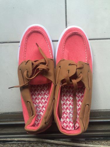 zapatillas tela mezclilla talla 40 (nuevas)