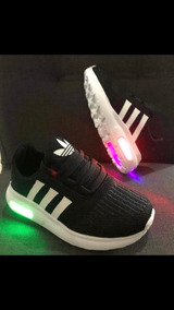 Ahora Zumbido ordenar  zapatillas adidas con luces para niños - 51% descuento - gigarobot.net