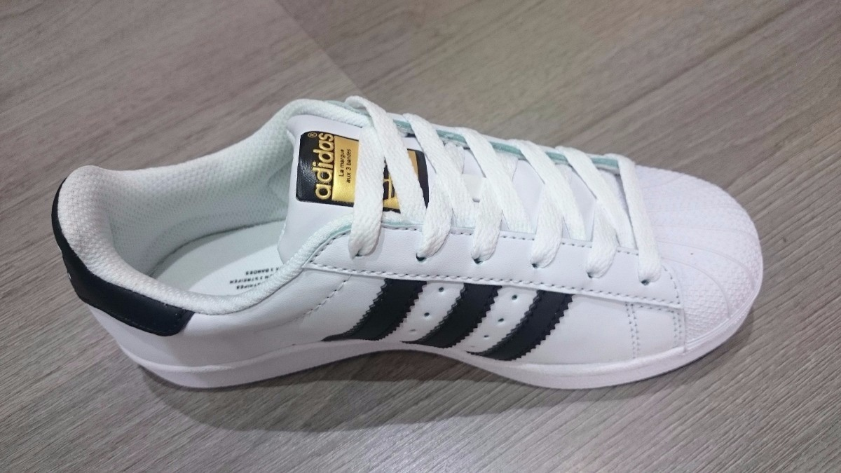 adidas superstars blancas ombre