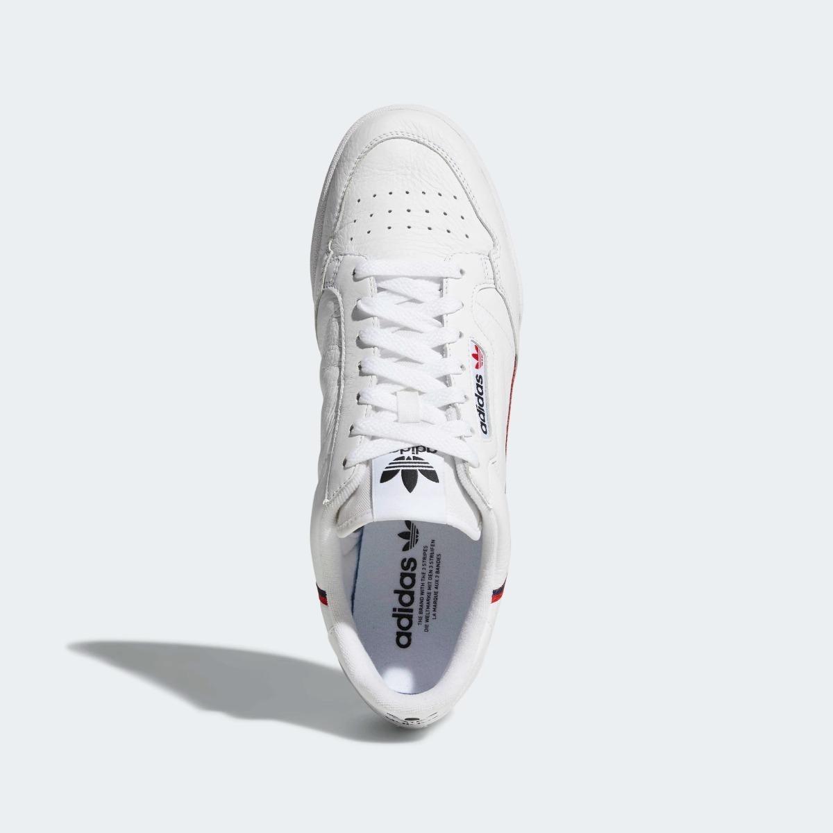 low priced 89ea5 298ff zapatillas tenis blancos adidas continental 80 (hombre-dama). Cargando zoom.