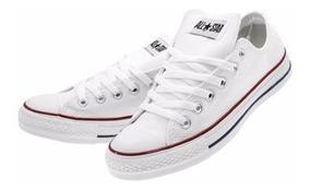 comprar mejor baratas gran descuento Zapatillas Tenis Converse Cuero Blanco Hombre