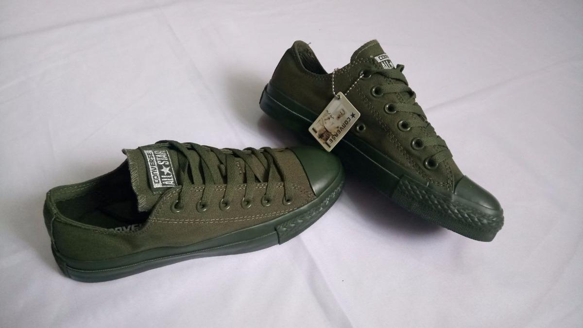 1cb09a0c860 ... sweden zapatillas tenis converse unicolor verde mujer. cargando zoom.  a135c 86c44