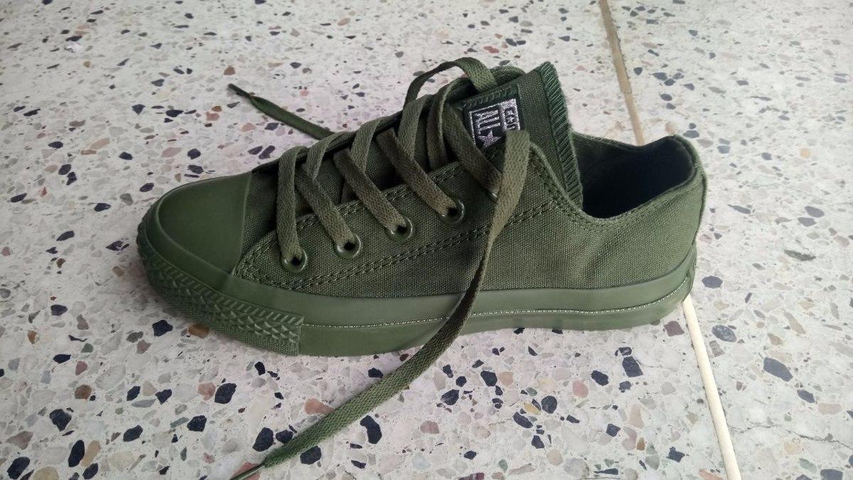 f2253342fe1 ... wholesale zapatillas tenis converse verde mujer y hombre original. cargando  zoom. 0d547 4cc97