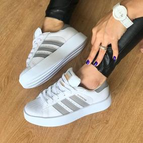 adidas superstar plataforma mujer