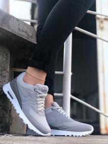 Zapatillas Tenis Deportivos Nike Thea Dama Negro Blanco