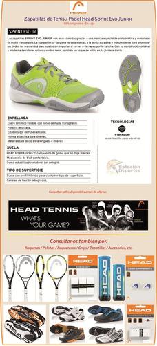 zapatillas tenis head deportes
