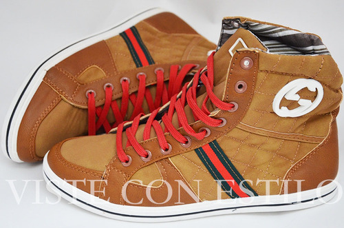 zapatillas tenis hombre gucci tallas 39-40-42 colombia