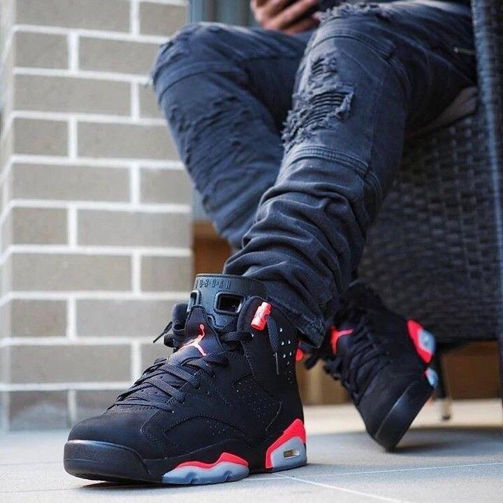 Zapatillas Tenis Nike Air Jordan 6 Retro Hombre Original