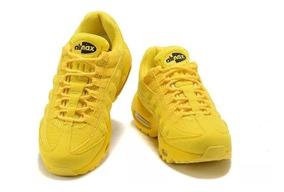 nike air max mujer amarillas