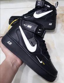 Zapatillas Tenis Nike Force Bota Hombre Original