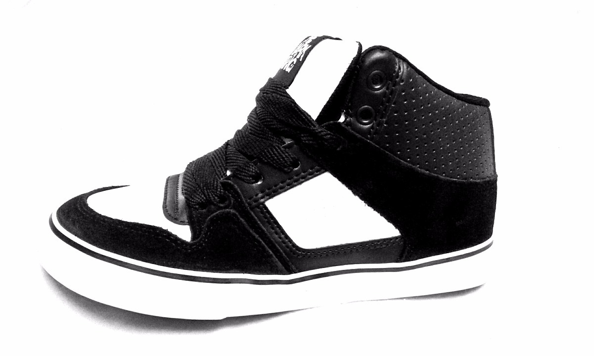 d86d885e175f4 Zapatillas The Dark King. Skate. Hip Hop. Bronx Negro blanco ...