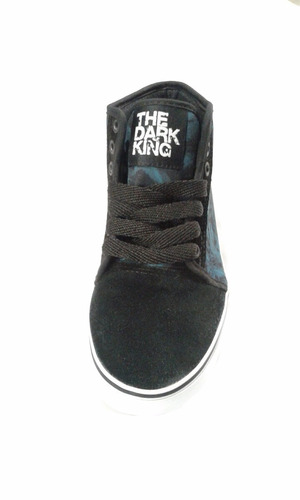 zapatillas the dark king skate hip hop pride chala turquesa