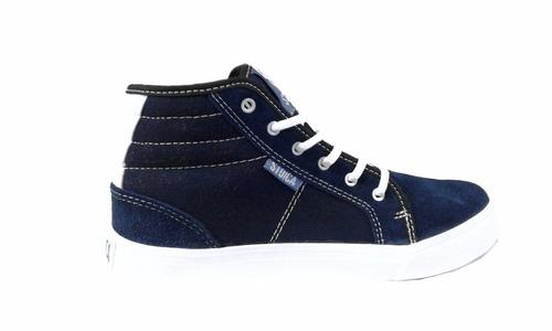 zapatillas the dark king skate hip hop sucre azul