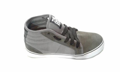 zapatillas the dark king skate hip hop sucre gris